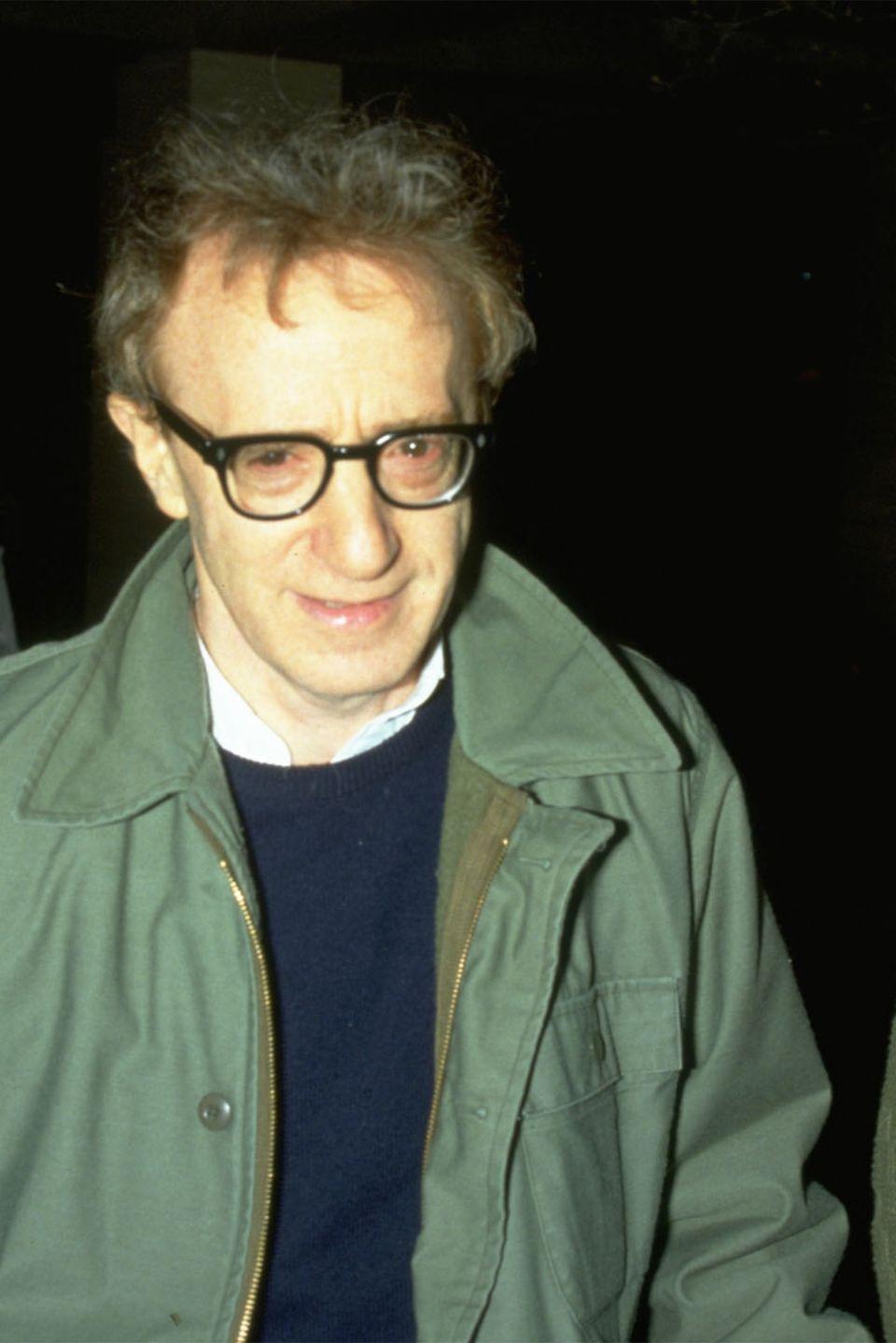 Woody Allen und Mia Farrow