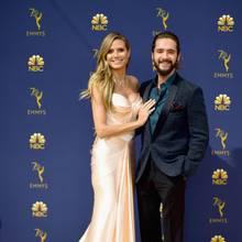 Heidi Klum und Tom Kaulitz bei der Verleihung der Emmy-Awards