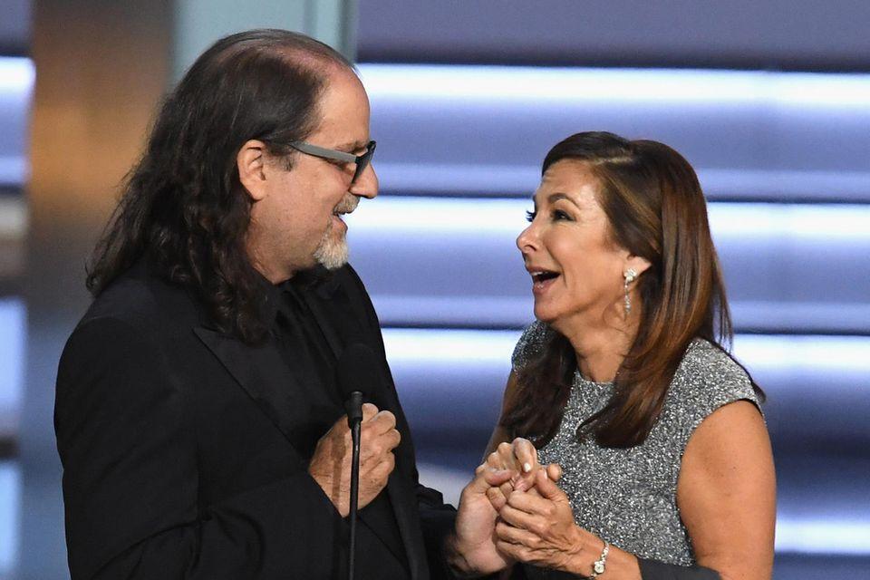 Regisseur Glenn Weiss mit seiner Verlobten
