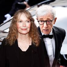 Mia Farrow und Woody Allen