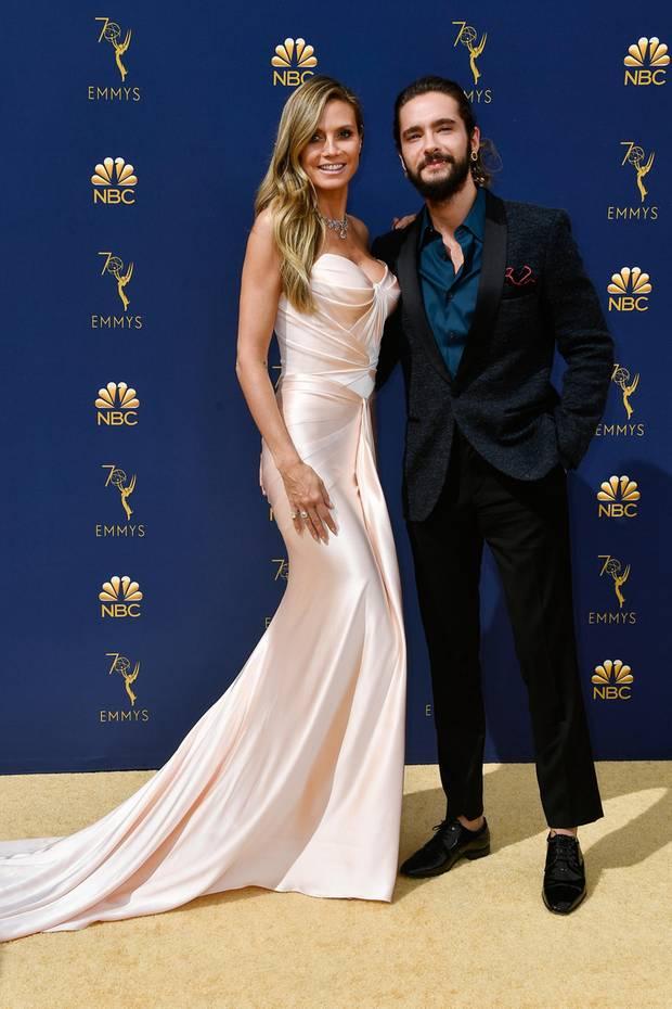 Hollywoodreif: Heidi Klum, hier mit Tom Kaulitz,in Zac Posen