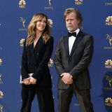 Partnerpose im Partnerlook: Felicity Huffman und William H. Macy