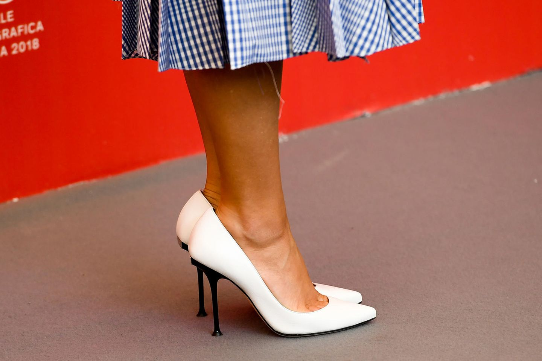 Weiße Heels