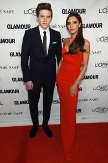 Brooklyn Beckham und Victoria Beckham