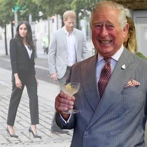 Prinz Charles, Prinz Harry und Herzogin Meghan