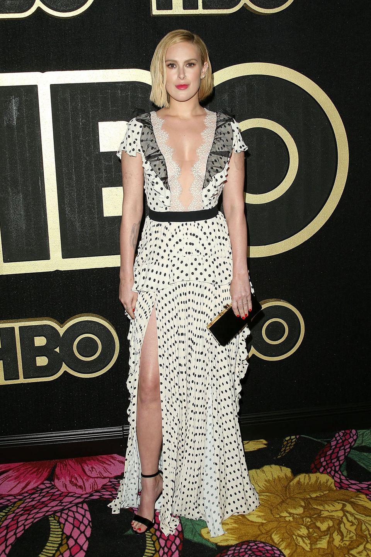 Rumer Willis macht bei der HBO-Party eine sexy Punktlandung.