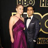 "Purple-Rain-Feeling mit ""Big Sick""-PaarEmily V. Gordon und Kumail Nanjiani gibt es bei der HBO-Party."