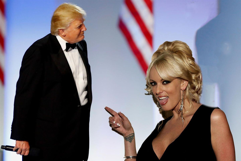 Donald Trump und Stormy Daniels