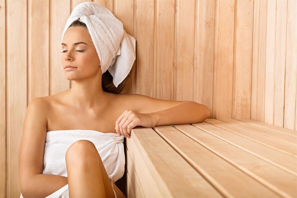 Ein Sauna-Besuch mindert den Alltagsstress und stärkt das Immunsystem