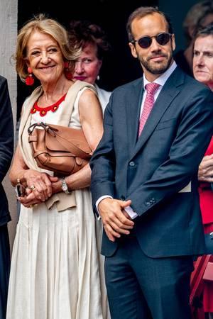 Mutter Maria del Carmen Cerruti und Bruder Juan Zorreguieta