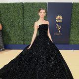 Das wunderschöne Kleid der SchauspielerinAngela Sarafyan (Westworld).
