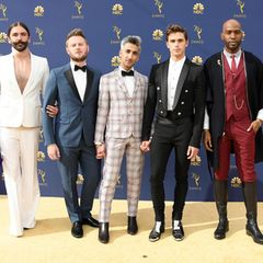 "Jonathan Van Ness, Bobby Berk, Tan France, Antoni Porowski und Karamo Brown (v.l.) sind die Stars der Serie ""Queer Eye""."