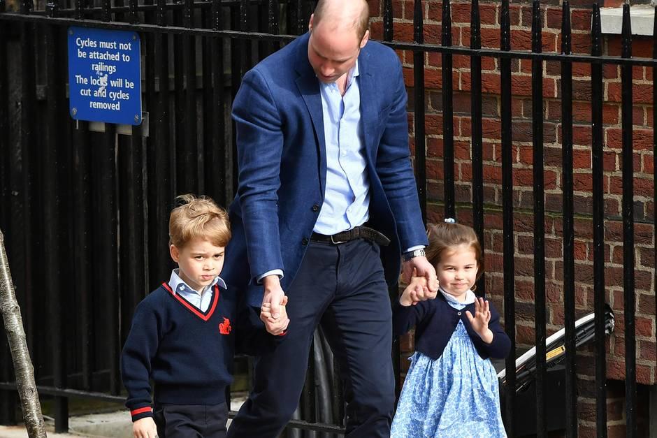 Prinz William, Prinz George, Prinzessin Charlotte