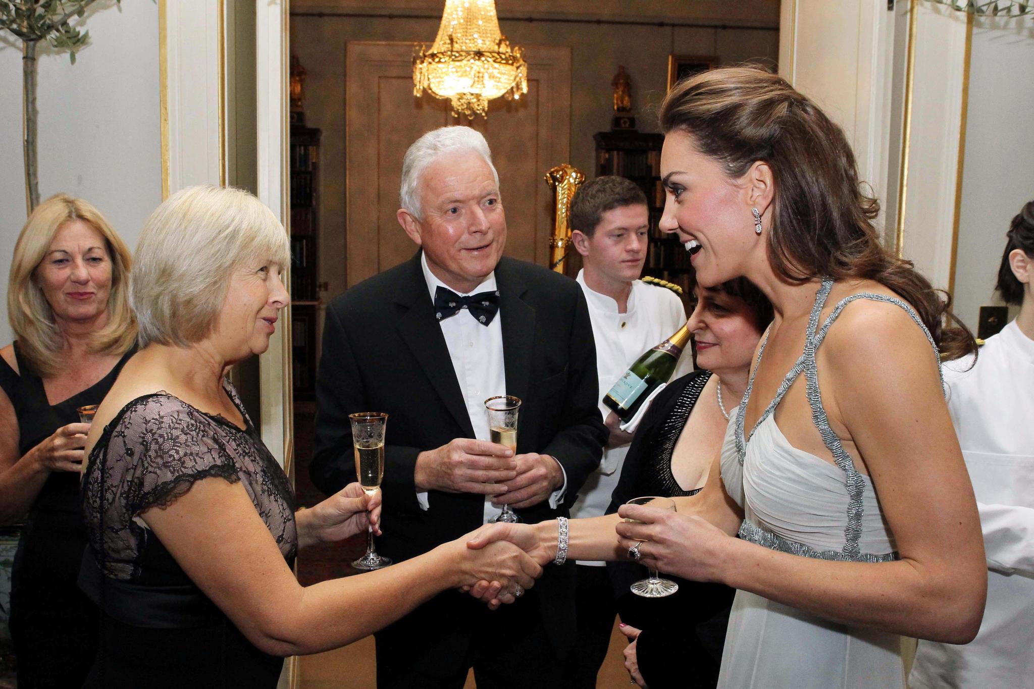 Herzogin Catherine übernahm im Oktober 2011 die Rolle des Gastgebers im Clarence House.
