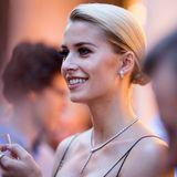Bereits im Sommer 2017 funkelte Model Lena Gercke beim Bulgari Boutique Opening in Frankfurtmit dieserbesonders schönen Halskette.