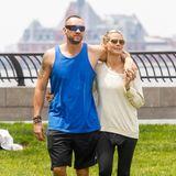 """An Bodyguard Martin Kristen hat Heidi Klum mehr als nurGefallen gefunden:Zwischen 2012 und 2014 haben sie als Liebespaar dem Kinohit """"Bodyguard"""" alle Ehre gemacht."""