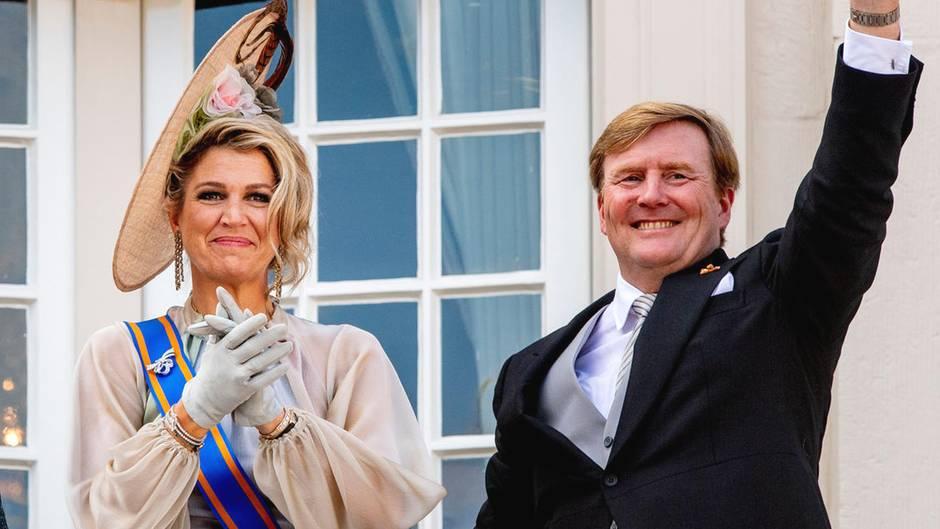 Königin Máxima und König Willem-Alexander zum Prinsjesdag