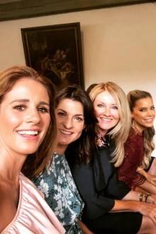 20. September 2018  Bei der Hochzeit von Modedesigner Guido Maria Kretschmar tummeln sich neben Frauke Ludowig noch einige andere Promi-Ladies wie Sylvie Meis und Marlene Lufen.