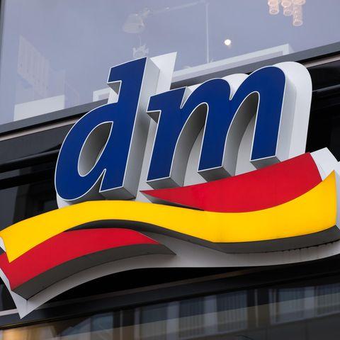 Logo der Drogeriekette Dm.