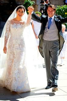 Luxemburg: 21. September 2018 Prinzessin Claire und Prinz Félix von Luxemburg feiern heute ihren 5. Hochzeitstag. Wir gratulieren von Herzen.