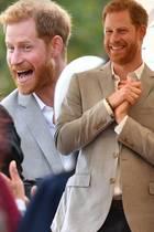 Prinz Harry super happy beim Termin : Ist Herzogin Meghan schwanger?