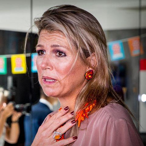 KöniginMáxima trauert am 20. September um vier tödlich verunglückte Kinder