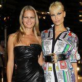 Girl-Power bei Versace: Anna Ewers und Natasha Poly.
