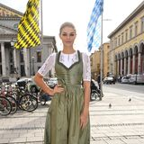 22. September 2018  GNTM-Gewinnerin Luisa Hartema beim Breakfast at Tiffany auf dem 185. Oktoberfest.
