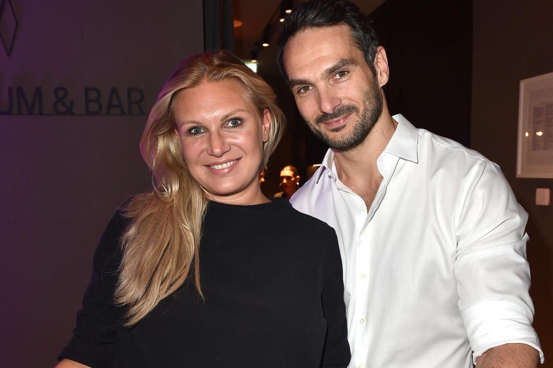 Magdalena Brzeska mit ihrem neuen Freund Roland