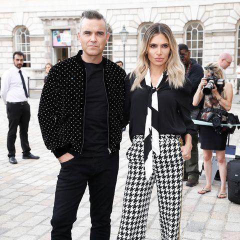 Robbie Williams und Ayda Field sind seit acht Jahren verheiratet