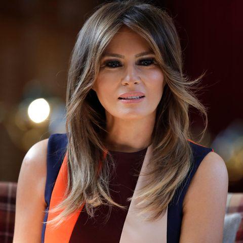 Melania Trump scheut das Gespräch mit den Medien