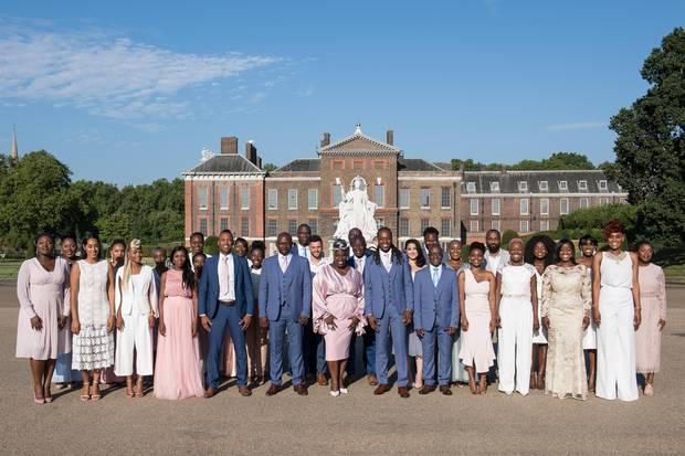 """""""The Kingdom Choir"""" aus London sang bei der Hochzeit von Prinz Harry und Meghan Markle"""