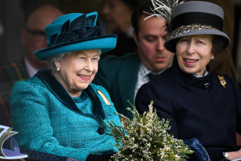 Queen Elizabeth, Prinzessin Anne