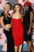 """Heidi Range, Mutya Buena und Keisha Buchanan starten2002 als die """"Sugababes"""" so richtig durch und feiernmit Songs wie """"Push the Button"""" große Chart-Erfolge."""