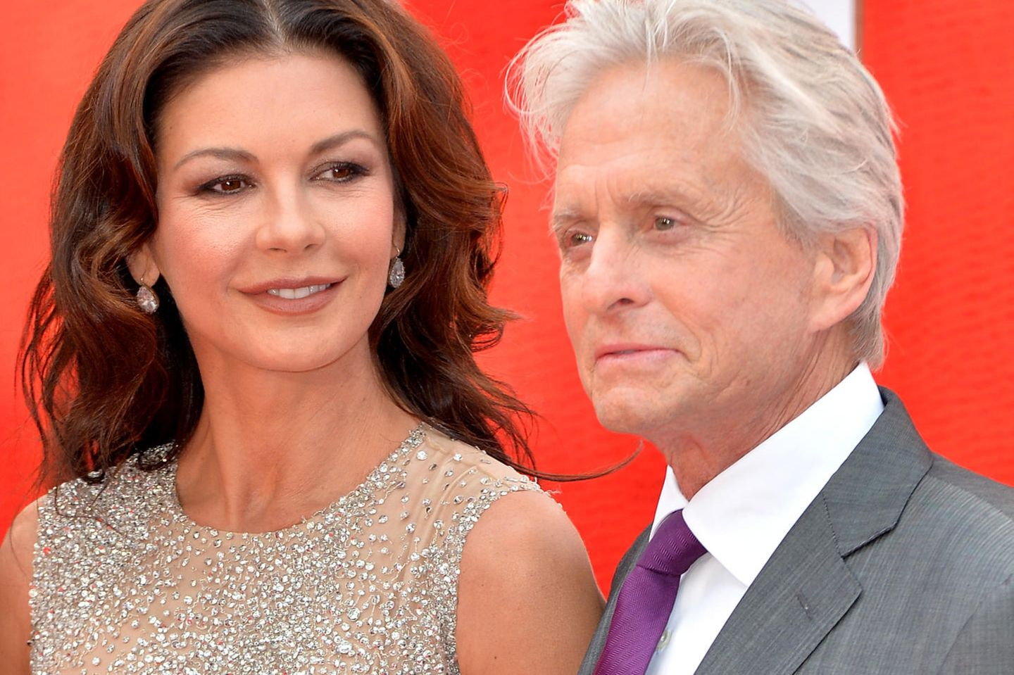 Catherine Zeta-Jones + Michael Douglas