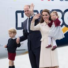 Prinz George, Prinz William, Herzogin Catherine und Prinzessin Charlotte reisten im Oktober 2016 nach Kanada