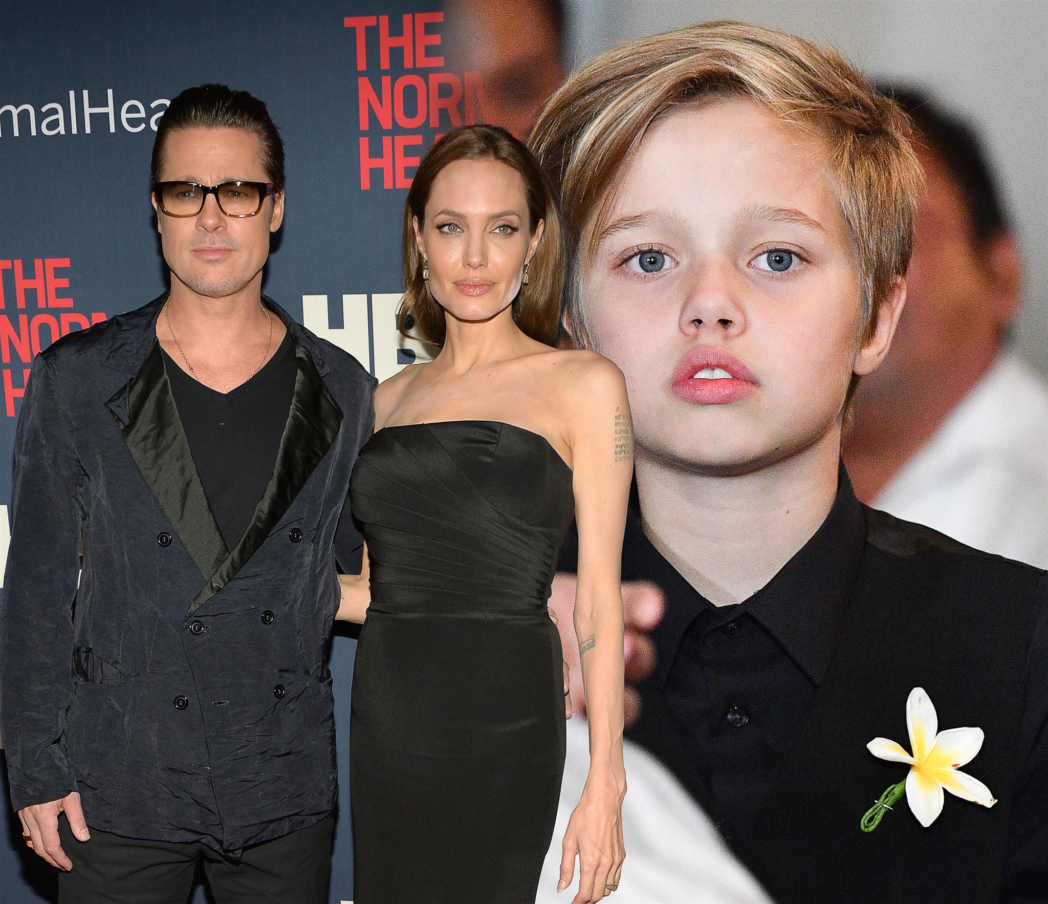 Brad Pitt, Angelina Jolie, Shiloh Jolie-Pitt