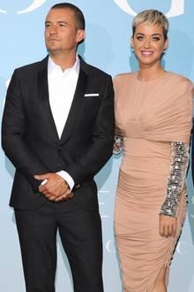 Katy Perry und Orlando Bloom geben ihr gemeinsames Red-Carpet-Debüt