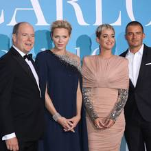 26. September 2018  Was ein Star-Auflauf! Ebenfalls auf der Gala zur Rettung des Ozeans: Katy Parry und Orlando Bloom.