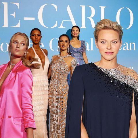 Das sind die Tops und Flops der Gala for Global Ocean in Monte-Carlo mit Fürstin Charlène, Toni Garrn undCo.