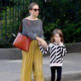 27. September 2018   Sienna Miller und Tochter Marlowe unterwegs in New York.