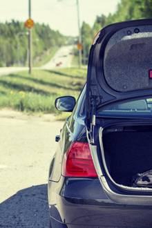 Der Kofferraum eines Autos (Symbolbild)