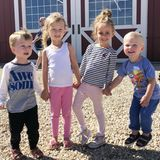 22. September 2018  Richtig Spaß haben die Kids Carmen, Rafael, Leonardo und Romeo. Quietschvergnügt tollen sie mit einer Freundin herum.