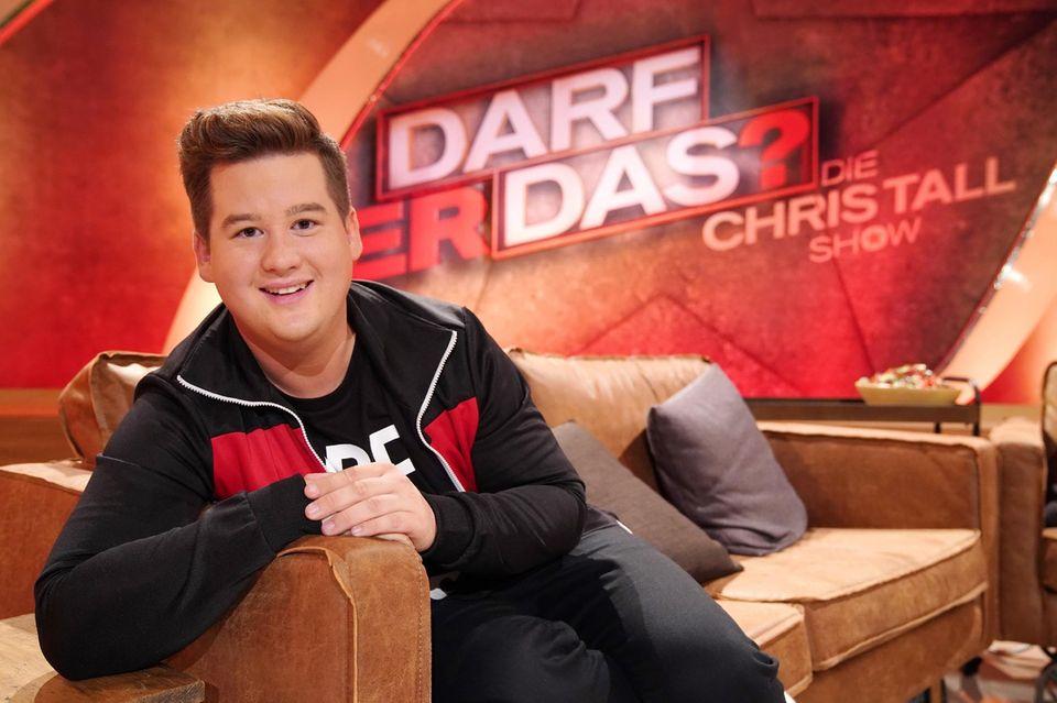"""Comedian Chris Tall ist Gastgeber der Sendung """"Darf er das?"""""""