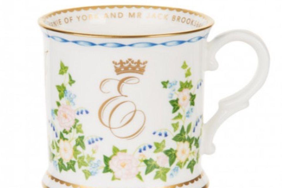 Die Hochzeits-Tasse von Prinzessin Eugenie und Jack Brooksbank kostet umgerechnet 44 Euro