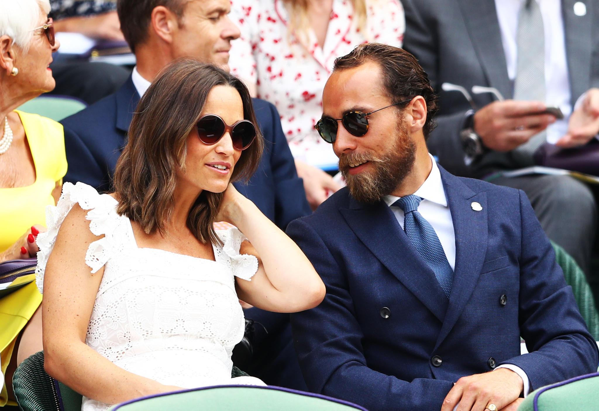 Pippa + James Middleton