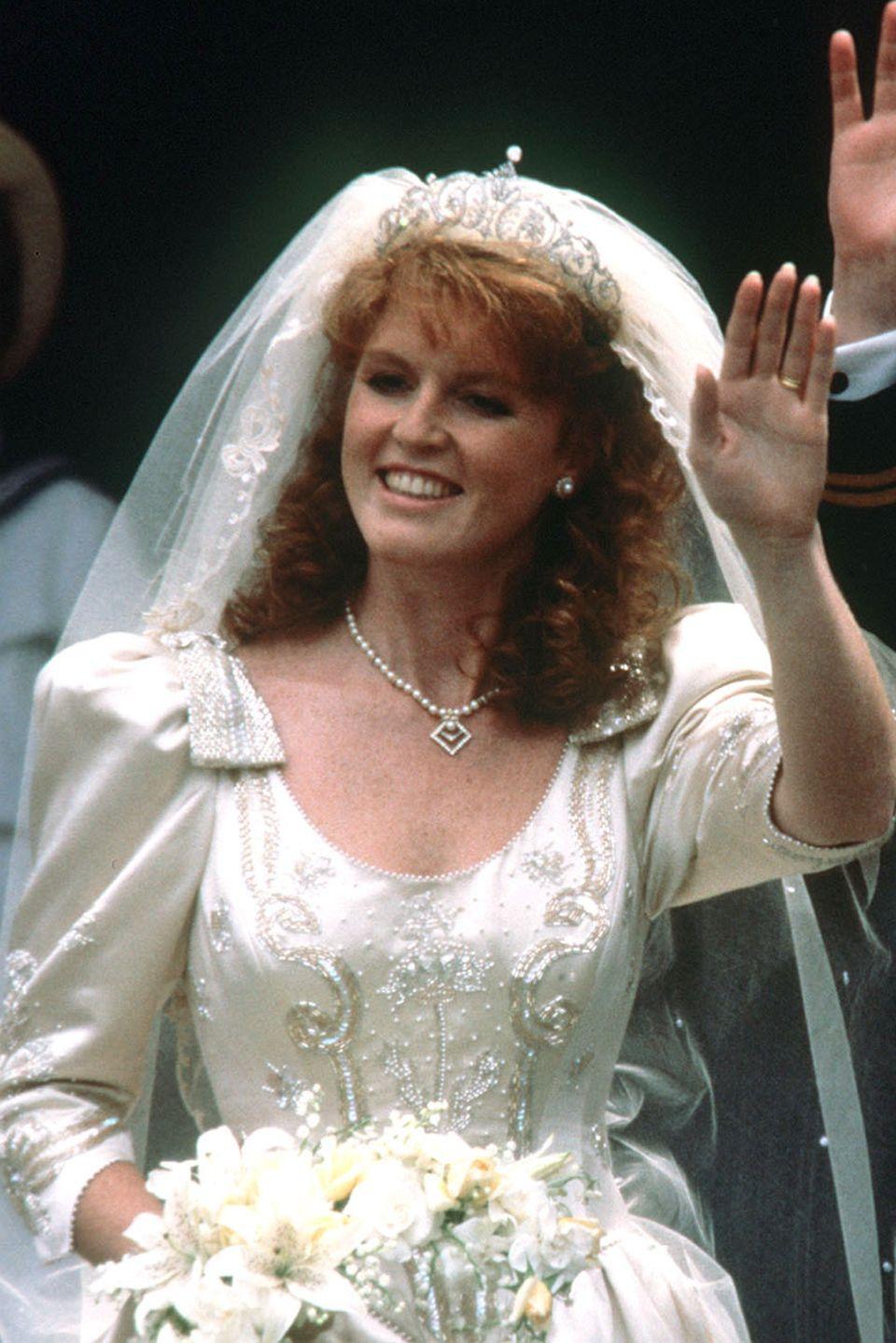 Sarah Ferguson an ihrem großen Tag 1986
