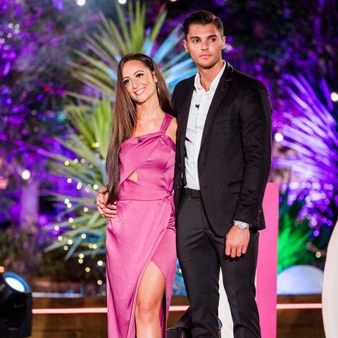 """Tracy und Marcellino haben sich bei """"Love Island"""" gesucht und gefunden"""