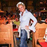 """Simpel und treffend postet Claudia Effenberg: """"Wiesnzeit."""""""