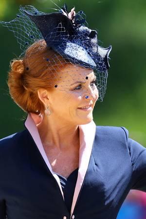 Hochzeit von Prinz Harry und Herzogin Meghan:Sarah Ferguson war eingeladen, kam aber allein zur Kirche